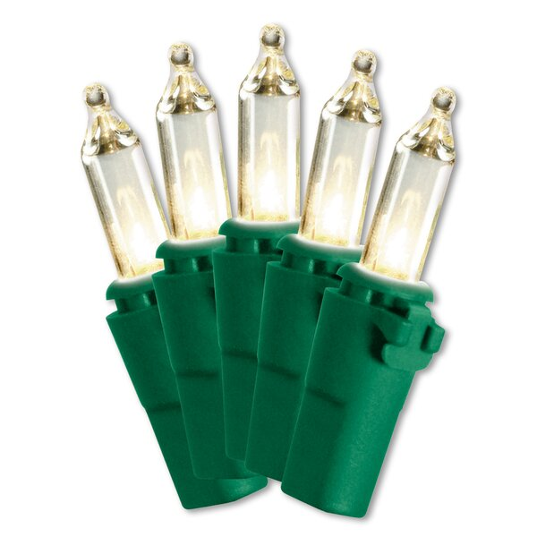 Ready-Lit Indoor/Outdoor 50 Mini-Light Set by National Tree Co.