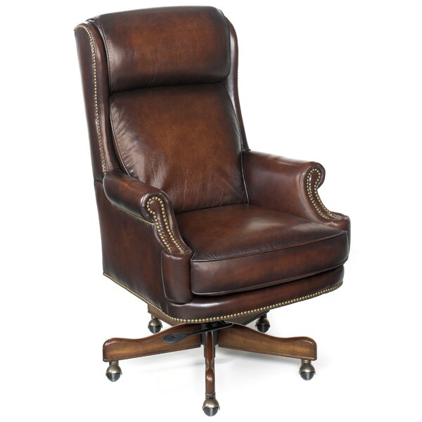 James River Leather Executive Chair by Hooker Furniture