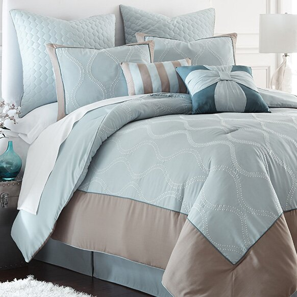 Lamey 8 Piece Comforter Set by Red Barrel Studio