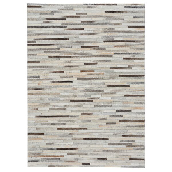 Ramanna Gray/Beige Area Rug by 17 Stories