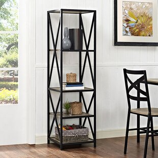 Augustus X-Frame Etagere Bookcase by Trent Austin Design