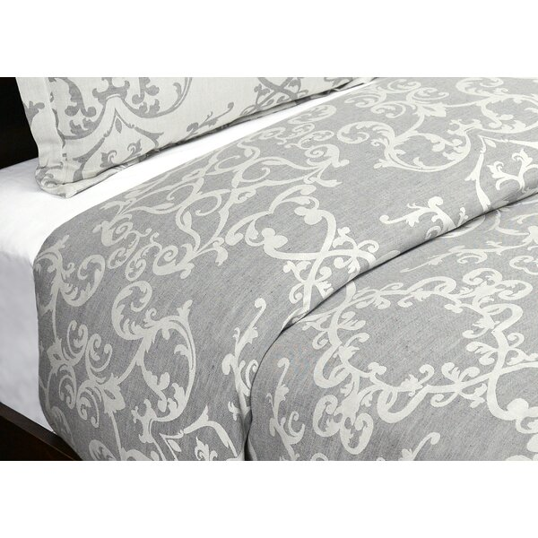 Savoy Reversible Duvet Cover by Astoria Grand