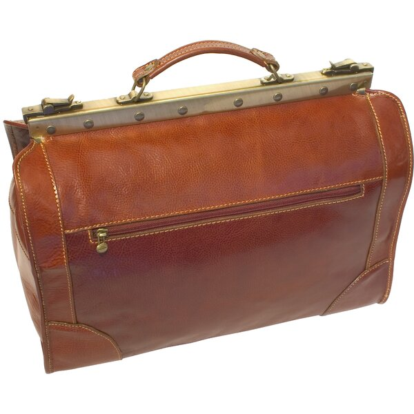 Positano 18 Leather Travel Duffel by Floto Imports