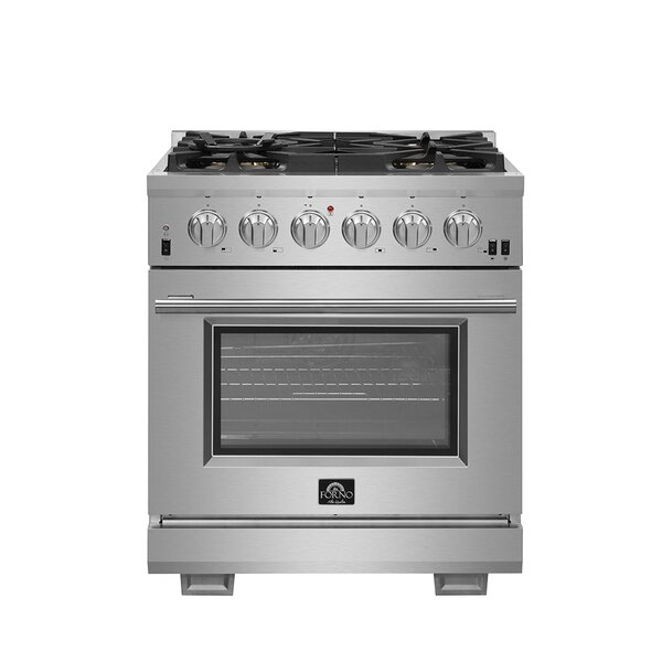 30 4.32 cu. ft. Freestanding Gas Range with Convection Oven