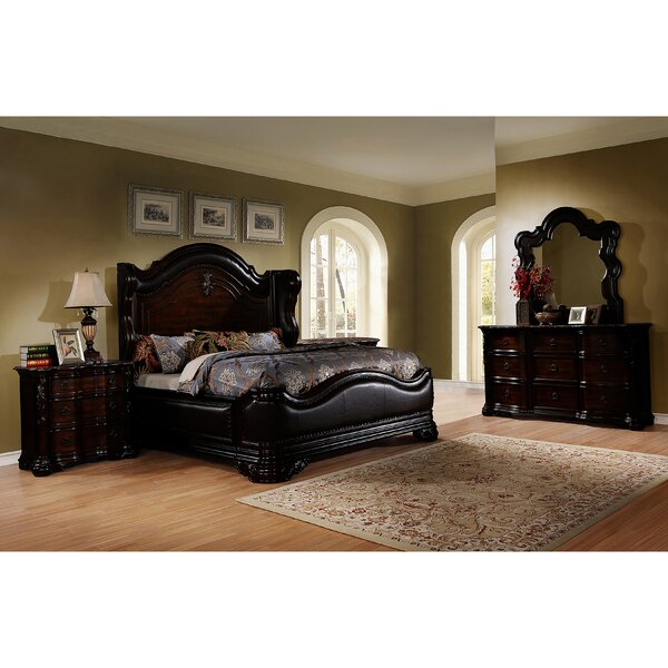Ayan Standard 5 Piece Bedroom Set by Astoria Grand