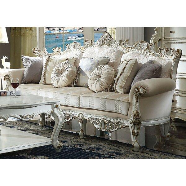 Caiden Sofa w/7 Pillows by Rosdorf Park