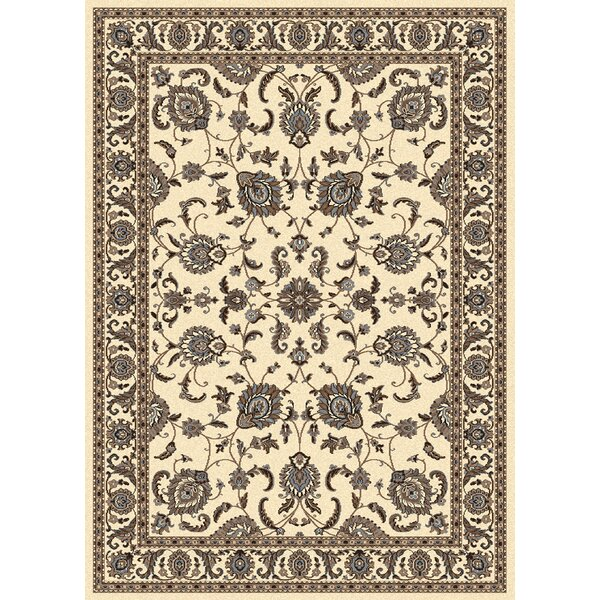 Weiser Ivory Area Rug by Astoria Grand