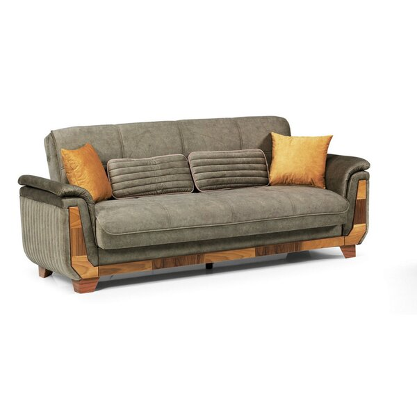 Houon 90'' Pillow Top Arm Sofa Bed By Foundry Select