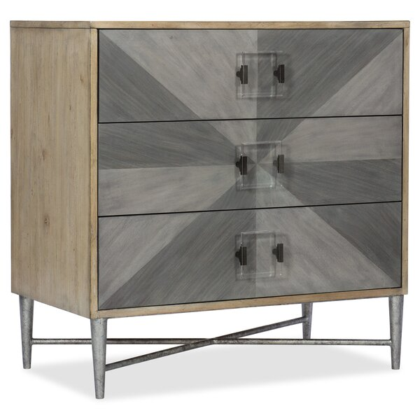 Melange Zulu 3 Drawer Accent Chest by Hooker Furniture