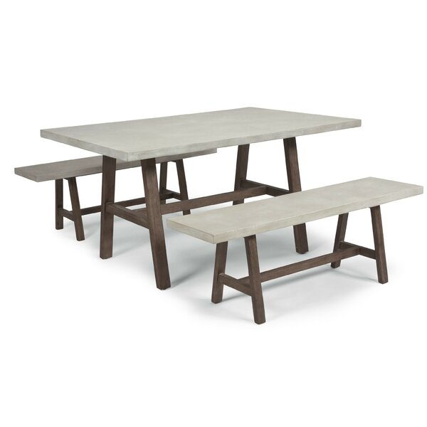 Jameown 3 Piece Dining Set by Trent Austin Design