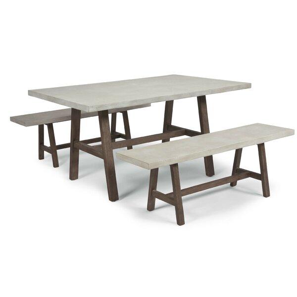 Jameown 3 Piece Dining Set by Trent Austin Design
