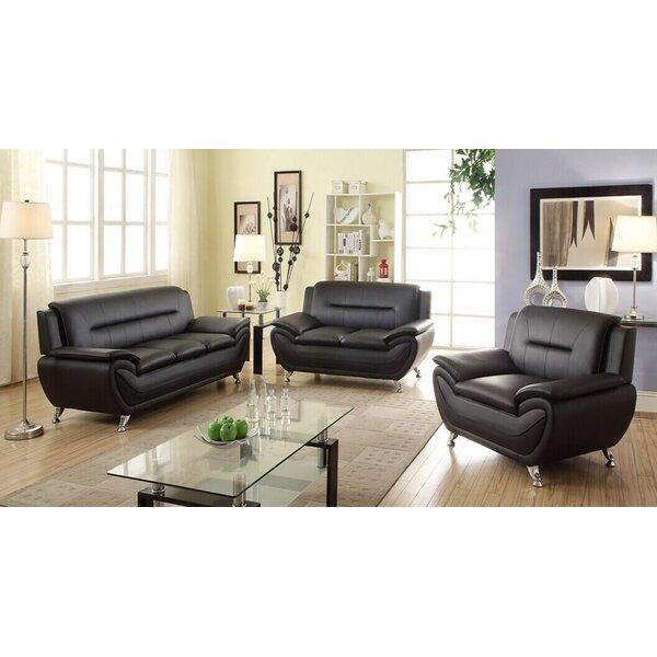 Brose Configurable Living Room Set by Ebern Designs