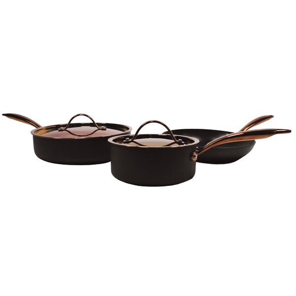 Cociani 5 Piece Starter Non-Stick Cookware Set by Mint Pantry