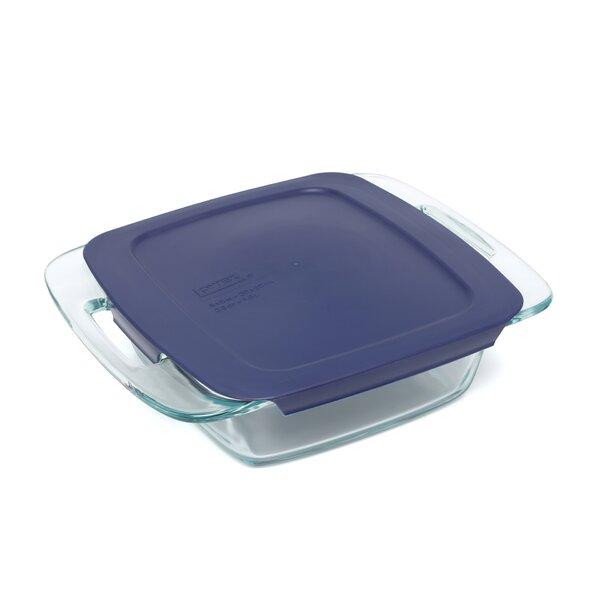 Easy Grab Square Baking Dish with Cover by Pyrex
