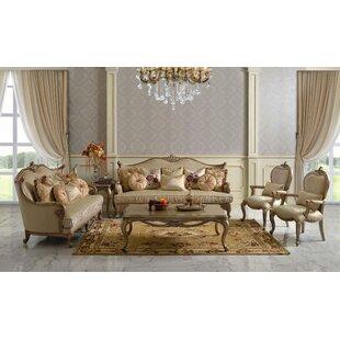 Czajkowski Victorian 6 Piece Living Room Set by Rosdorf Park
