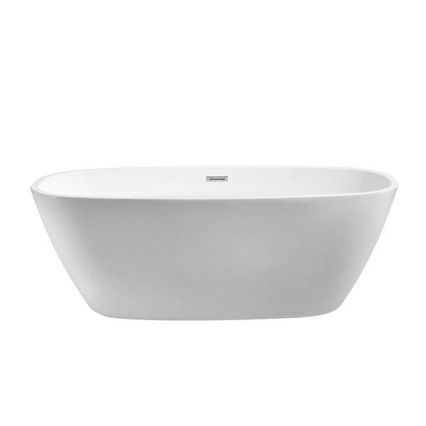 67 x 31 Freestanding Soaking Bathtub by Streamline Bath