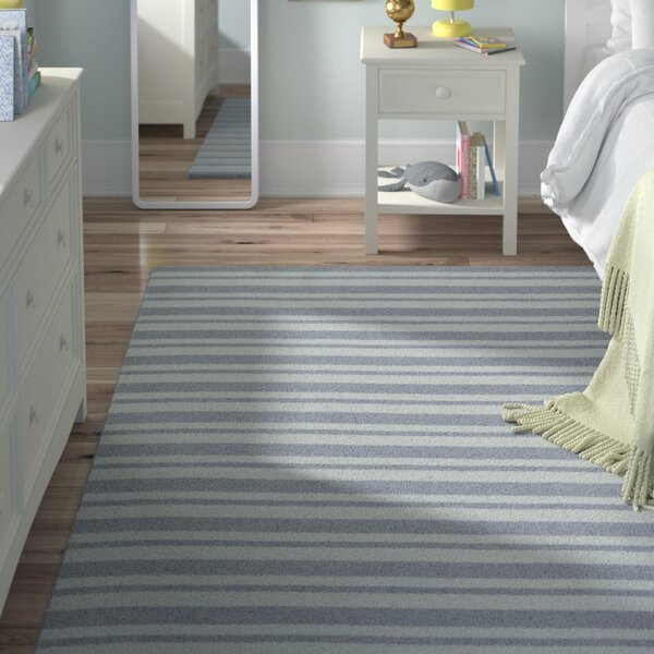 Marlon Gray Area Rug by Viv + Rae