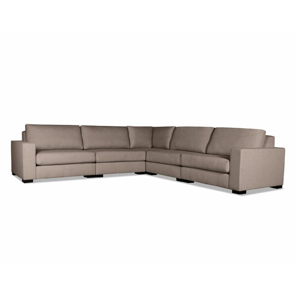Brose Modern Modular Sectional by Brayden Studio