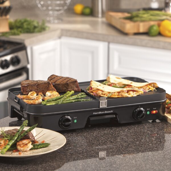 Reversible Griddle By Hamilton Beach.