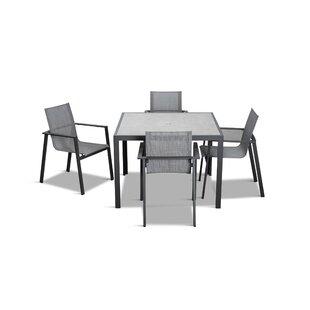 Gilda 5 Piece Dining Set ByEbern Designs