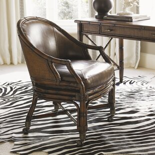 Bal Harbor Leather Desk Chair