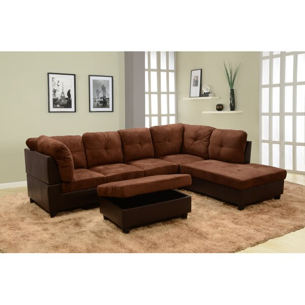 Choosing Right Russ Sectional with Ottoman Get this Deal on