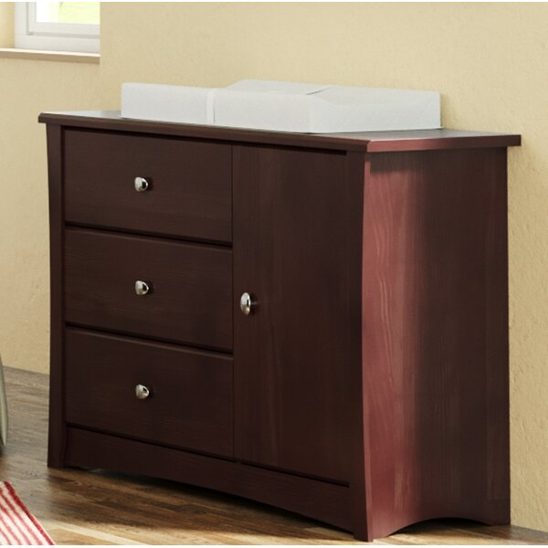 Crescent 3 Drawer Combo Dresser By Storkcraft