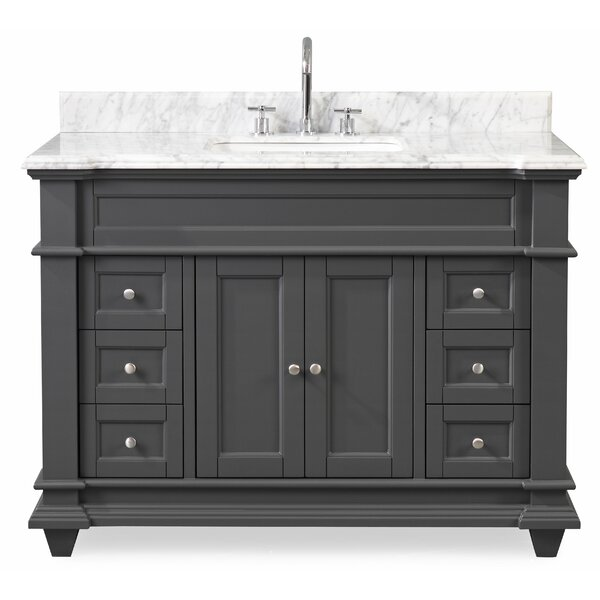 Charlton Home Leaman 48 Single Bathroom Vanity Set Wayfair