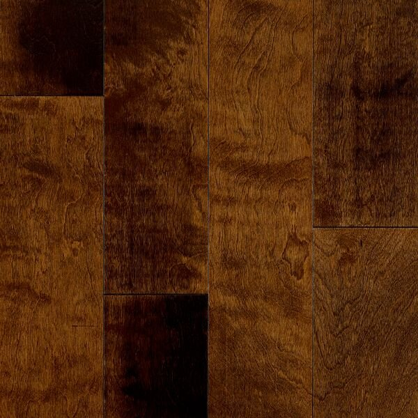 Turlington Signature Series 5 Engineered Birch Hardwood Flooring in Glazed Ginger by Bruce Flooring