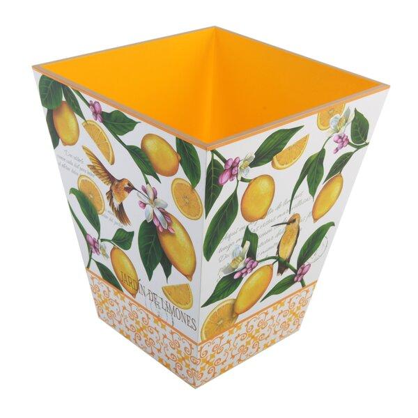 Lemon Garden Waste Basket by TSC Giftables