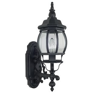 Savings French 1-Light Outdoor Sconce By Sunset Lighting
