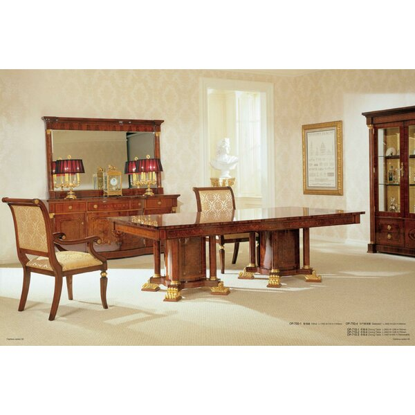 Orpheus Solid Wood Dining Table By Astoria Grand