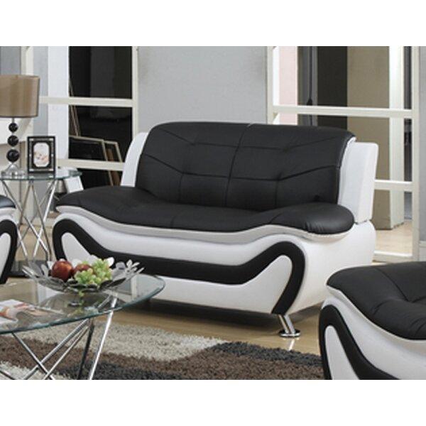 Machelle Modern Living Room Loveseat By Orren Ellis