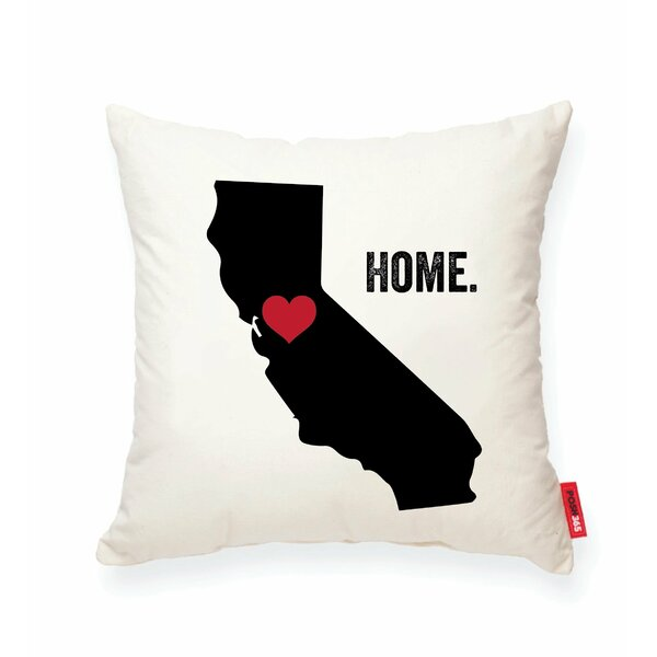 Pettry California Cotton Throw Pillow by Wrought Studio