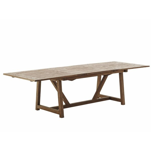 Storey Extendable Solid Wood Dining Table by Loon Peak