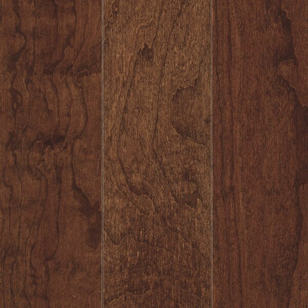La Grotta 5 Engineered Hardwood Flooring in Midnight Cherry by Mohawk Flooring