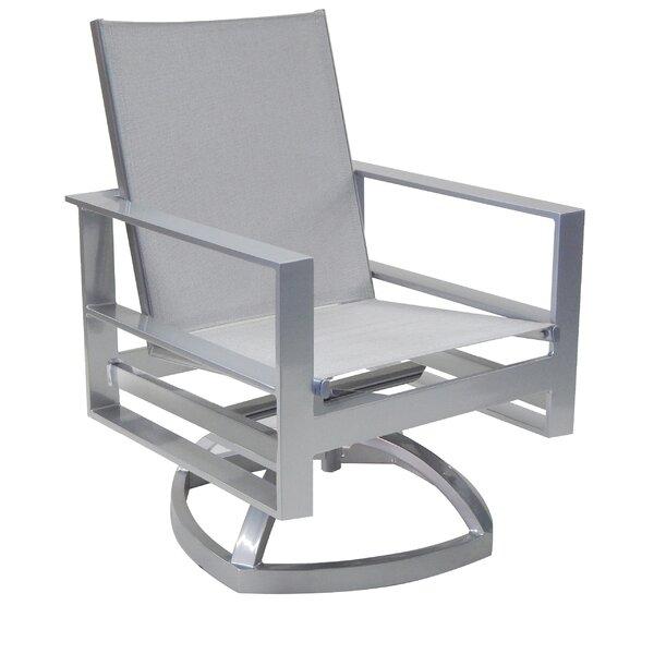 Horizons Sling Swivel Rocking Chair by Leona