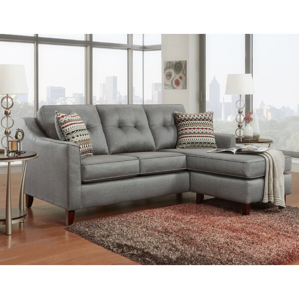 Levey Tufted Sectional by Latitude Run