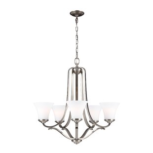 Cincinnati 5-Light Shaded Chandelier by Darby Home Co