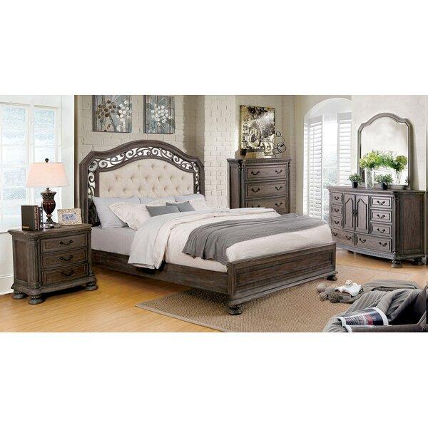 Jaxxon Upholstery Standard Bed by Astoria Grand