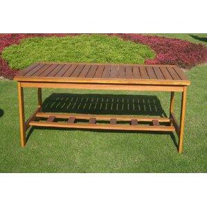Royal Tahiti Outdoor 2 Tier Patio Table