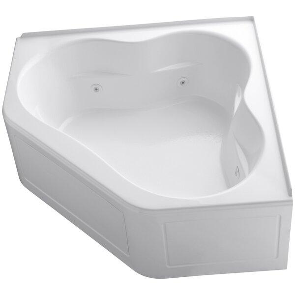 Tercet 60 x 60 Corner Whirlpool Bathtub by Kohler