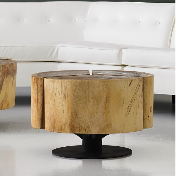 Clatterbuck Clover Chamcha Wood Coffee Table by Foundry Select