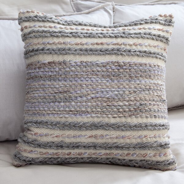 Ellaville Wool Throw Pillow by Eider & Ivory