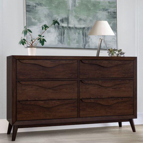 Demott 6 Drawer Double Dresser by George Oliver
