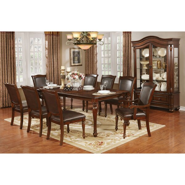 Rosemond 9 Piece Dining Set by Alcott Hill