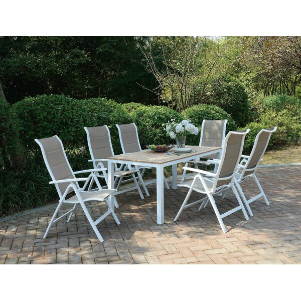 Myla 7 Piece Dining Set by Winston Porter