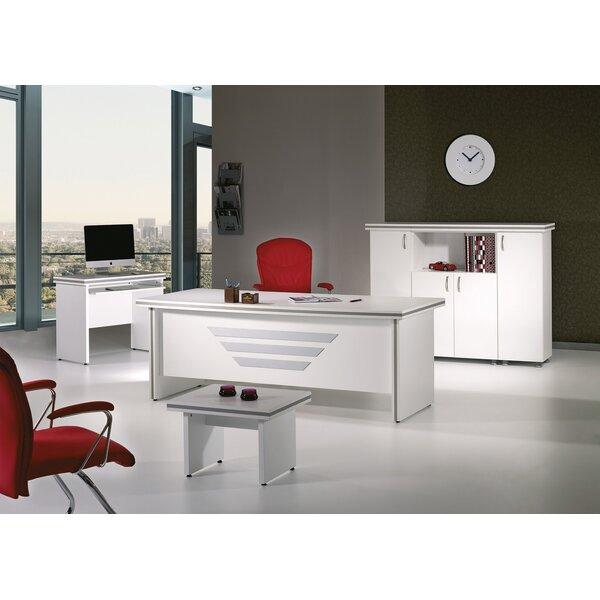 Truett Modern 5 Piece Desk Office Suite by Latitude RunTruett Modern 5 Piece Desk Office Suite by Latitude Run