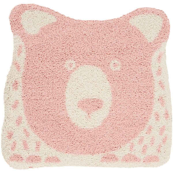 Holton Pink Area Rug by Zoomie Kids