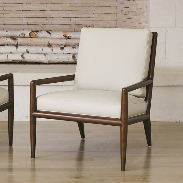 Lucas Leather Armchair by Global Views